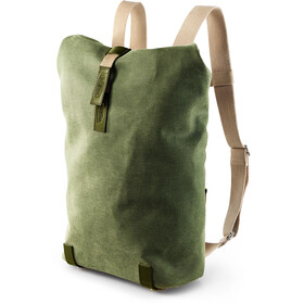 Brooks Pickwick Canvas Ryggsäck Small 12l grön/oliv